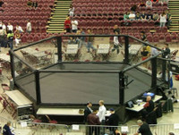 20' X 20 Hexagon Competition Cage