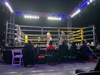"PRO ""FIGHT NIGHT"" MUAY THAI BOXING RING"