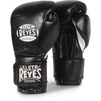 Cleto Reyes Hook & Loop Boxing Gloves Black