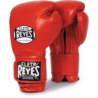 Cleto Reyes Hook & Loop Boxing Gloves Red