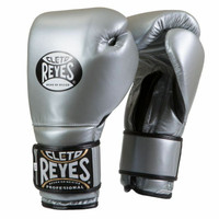 Cleto Reyes Hook & Loop Boxing Gloves Titanium