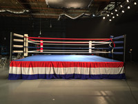 Professional Boxing Ring Elevated