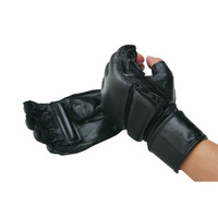 PRO MMA Leather Wrap Gloves