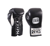 Cleto Reyes Official Safetec Professional Fight Gloves Black