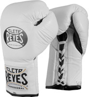 Cleto Reyes Official Pro Fight Gloves White