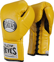 Cleto Reyes Official Pro Fight Gloves Yellow