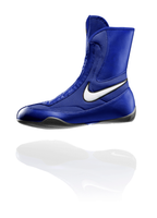 Nike Machomai Mid Top - Blue Boxing Shoes