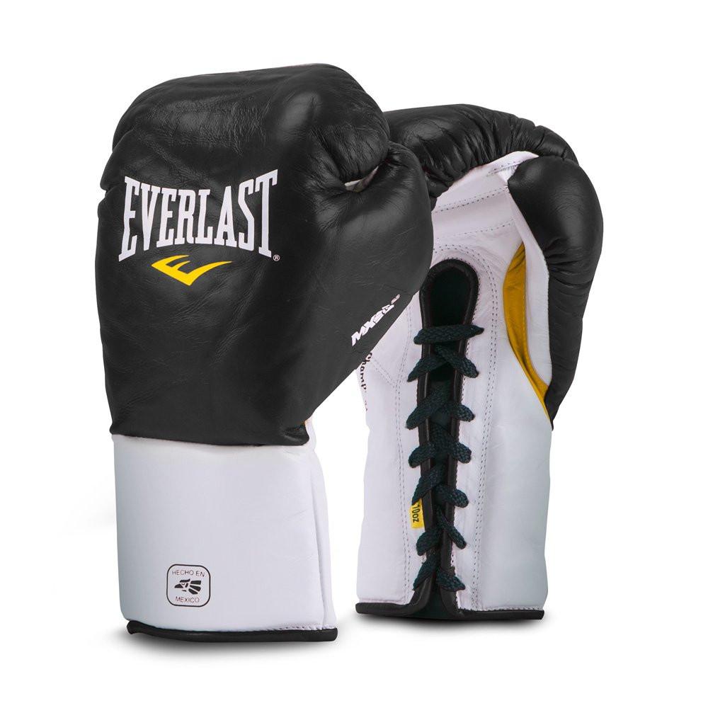 Everlast MX Professional Fight Gloves Black