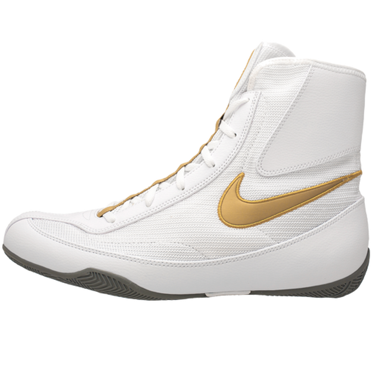 Nike Machomai 2.0 White/Gold Boxing Shoes
