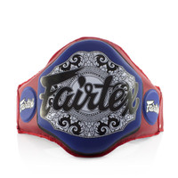Fairtex Boxing Muay Thai Microfiber Belly Pad Red/Blue