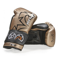 RIVAL RS11V Evolution Sparring Boxing Gloves Black/Gold