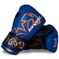 RIVAL RS11V Evolution Sparring Boxing Gloves Blue