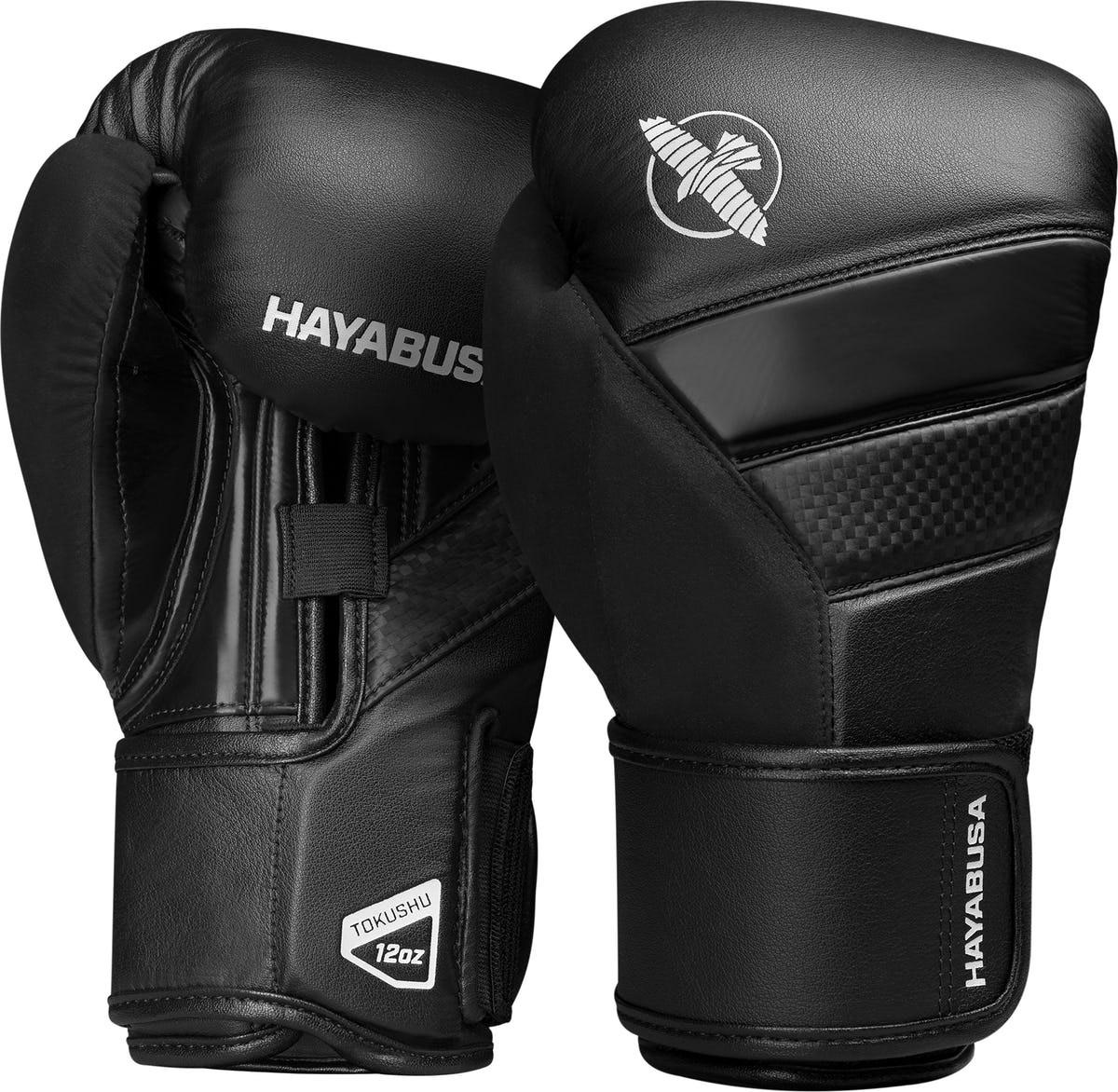 Hayabusa T3 Boxing Gloves Black