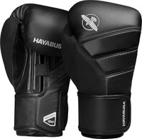 Hayabusa T3 Boxing Gloves Black
