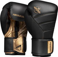 Hayabusa T3 Boxing Gloves Black/Gold