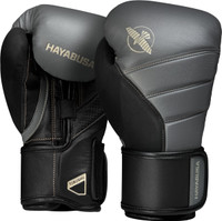 Hayabusa T3 Boxing Gloves Charcoal/Black