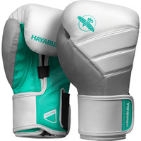 Hayabusa T3 Boxing Gloves White/Teal