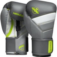 Hayabusa T3 Boxing Gloves Charcoal/Lime