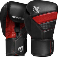 Hayabusa T3 Boxing Gloves Black/Red
