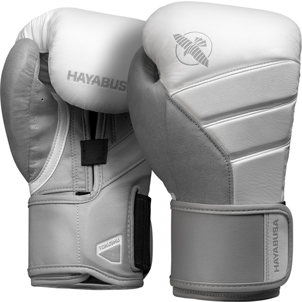Hayabusa T3 Boxing Gloves White/Grey
