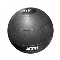 "Pro Fight SLAM BALL - 10 LB BLACK - 9"" DIAMETER"