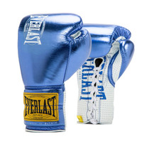 Everlast Iris Blue 1910 Classic Fight Gloves