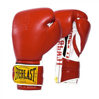 Everlast 1910 Classic Sparring Gloves Red
