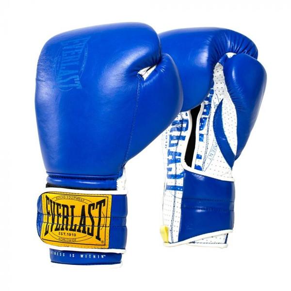 Everlast 1910 Classic Sparring Gloves Blue