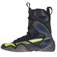 NIKE HYPERKO 2.0 Professional Boxing Shoes Black/Metallic Cool Grey/Blue