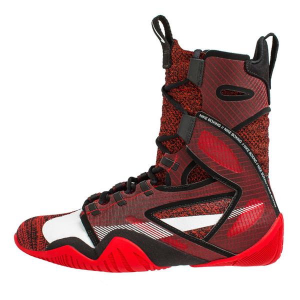 NIKE HYPERKO 2.0 Professional Boxing Shoes University Red/Black/ Red Orbit