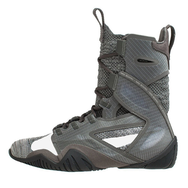 NIKE HYPERKO 2.0 Professional Boxing Shoes Iron Grey/Metallic Silver