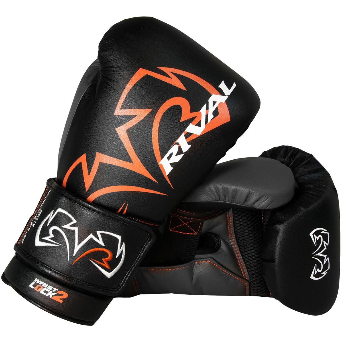 RIVAL RS11V Evolution Sparring Boxing Gloves Black