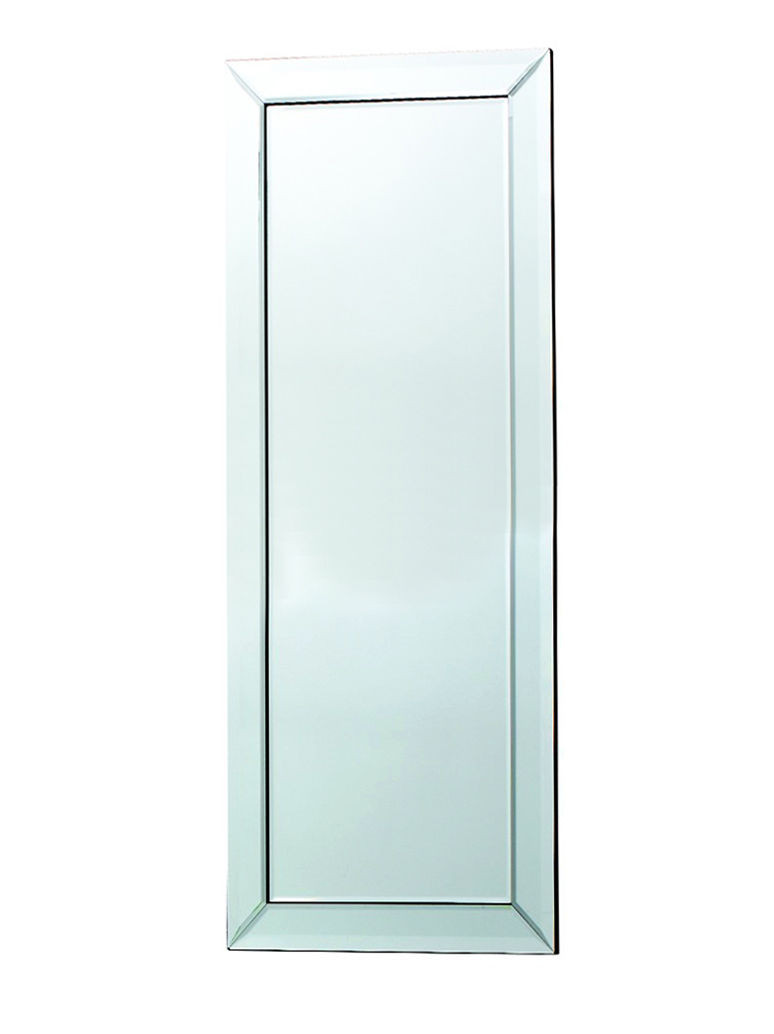 Madeira Large Full Length Venetian Glass Frame Wall Modern Glass Mirror 54 X18 Mirrors 2 Home