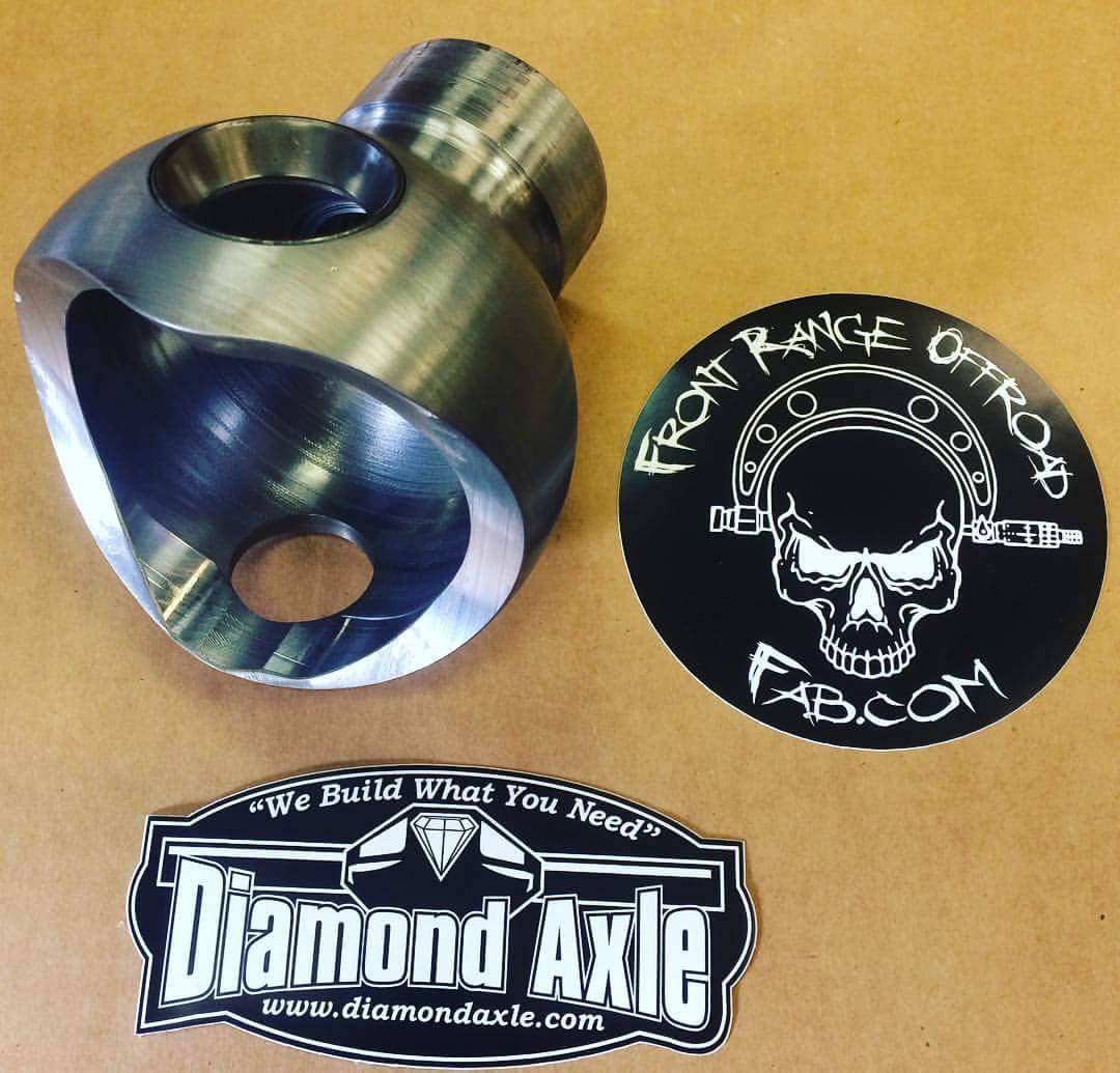 Diamond Axle Knuckle Balls - Front Range Off-Road Fabrication