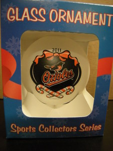 2011 Baltimore Orioles Ornament