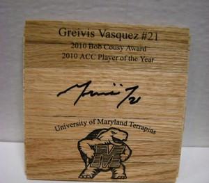 Greivis Vasquez Auto Floor Piece