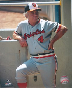Earl Weaver Orioles 8x10 Photo