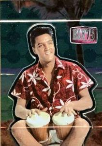 Elvis Milestone 75th Birthday Pop Up Card PU 4