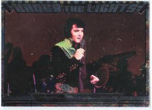 Elvis Milestone Under the Lights UTL 5 card