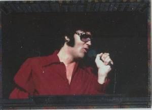 Elvis Milestone Under the Lights UTL 4 card