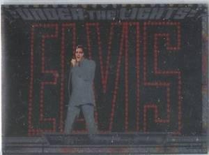 Elvis Milestone Under the Lights UTL 1 card