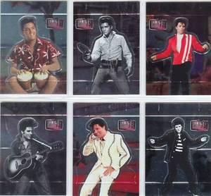 Elvis Milestone 75 Birthday Pop Up card set 1 thru 6
