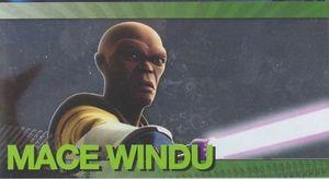 Star Wars Clone Wars Widevision Foil Mace Windu # 8