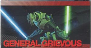 Star Wars Clone Wars Widevision Foil General Grievous