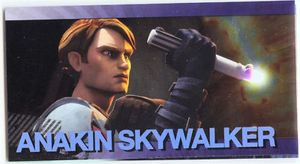 Star Wars Clone Wars Widevision Foil Anakin Skywalker