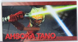 Star Wars Clone Wars Widevision Foil Ahsoka Tano