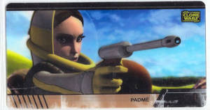 Star Wars Clone Wars Widevision Cell Padme # 5