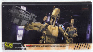 Star Wars Clone Wars Widevision Cell Battle Droids # 4