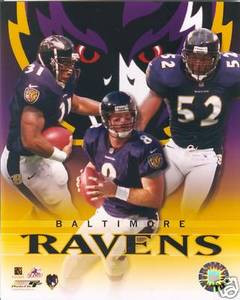 Ravens 2000 Ray Jamal Lewis Dilfer Photo