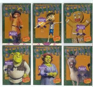 SHREK the Third Scratch Stink SH Card Set